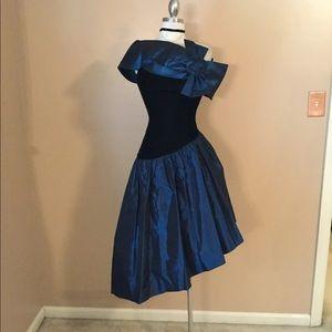 Vintage 80's Jessica McClintock Gunne sax gown 3